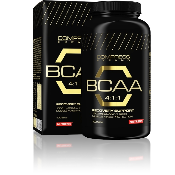 Nutrend Compress BCAA 4:1:1 100 tabliet