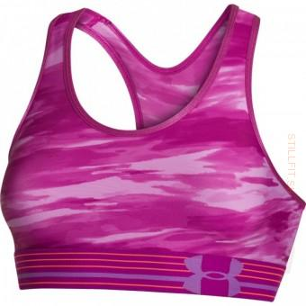 Under Armour HeatGear Armour Printed Sports Bra, S