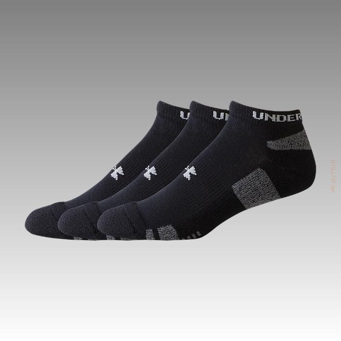 Under Armour HeatGear 3 Pk No Show