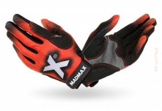 MadMax MXG-101 Crossfit Gloves červené, XL